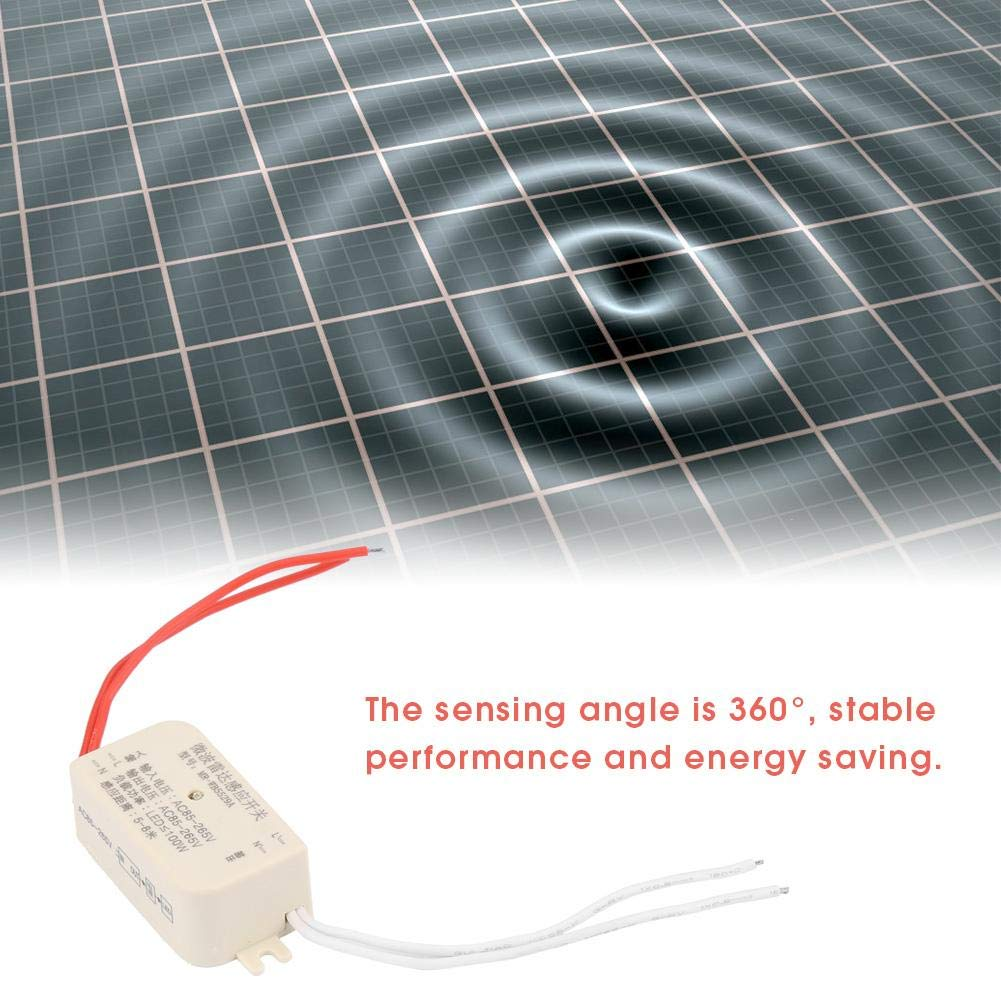 MR-WB5529 Cuerpo Movimiento Microondas Cuerpo humano Movimiento Microondas Radar Sensor Interruptor 100W