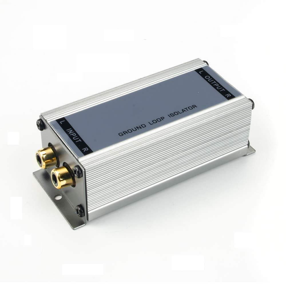 Mantelstromfilter mit Stereo Line-Anschl/üssen MONACOR FGA-40HQ High-End Masse-Trennfilter