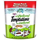 Temptations All Natural Yellow Fin Tuna Flavor Treats for Cats, 10 Pack/160g