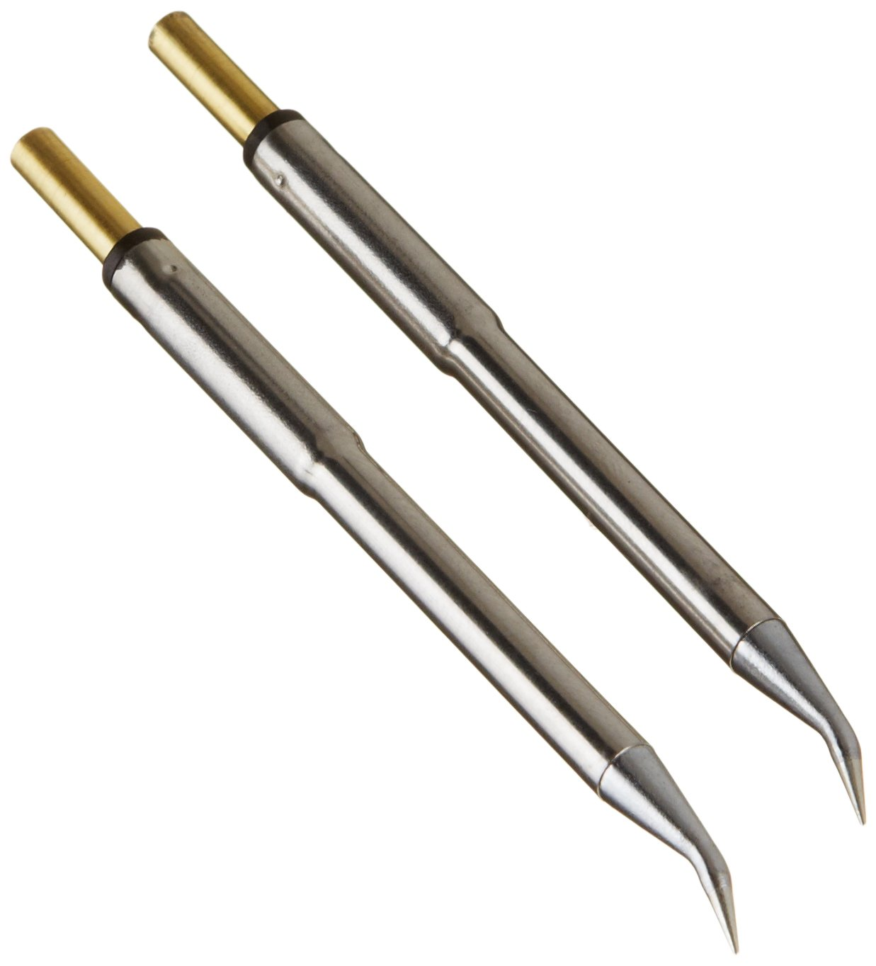 Metcal PTTC-701B PTTC Series Tweezer Cartridge for Most Standard Applications, Conical Bent 30 Degree, 412 Degree C Maximum Tip Temperature, 0.4mm Tip Size, 14.3mm Tip Length by Metcal (Image #1)