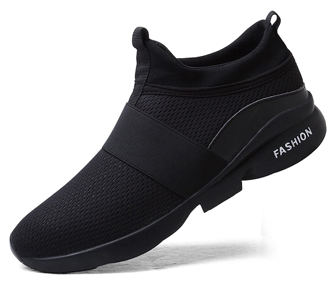 TSIODFO Men Mesh Slip on Sport Athletic Walking Shoes
