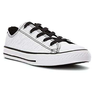 42817ab0b54 Image Unavailable. Image not available for. Color  Converse Junior Chuck  Taylor All Star Ox ...