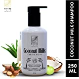 Rivona Naturals Coconut Milk Shampoo for Hydrating, Balancing & Strengthening Hair |Paraben & Sulphate Free| 250 ML