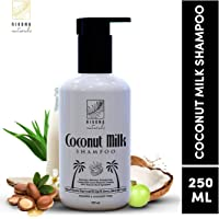 Rivona Naturals Coconut Milk Shampoo for Hydrating, Balancing & Strengthening Hair |Paraben & Sulphate Free| 250 ML