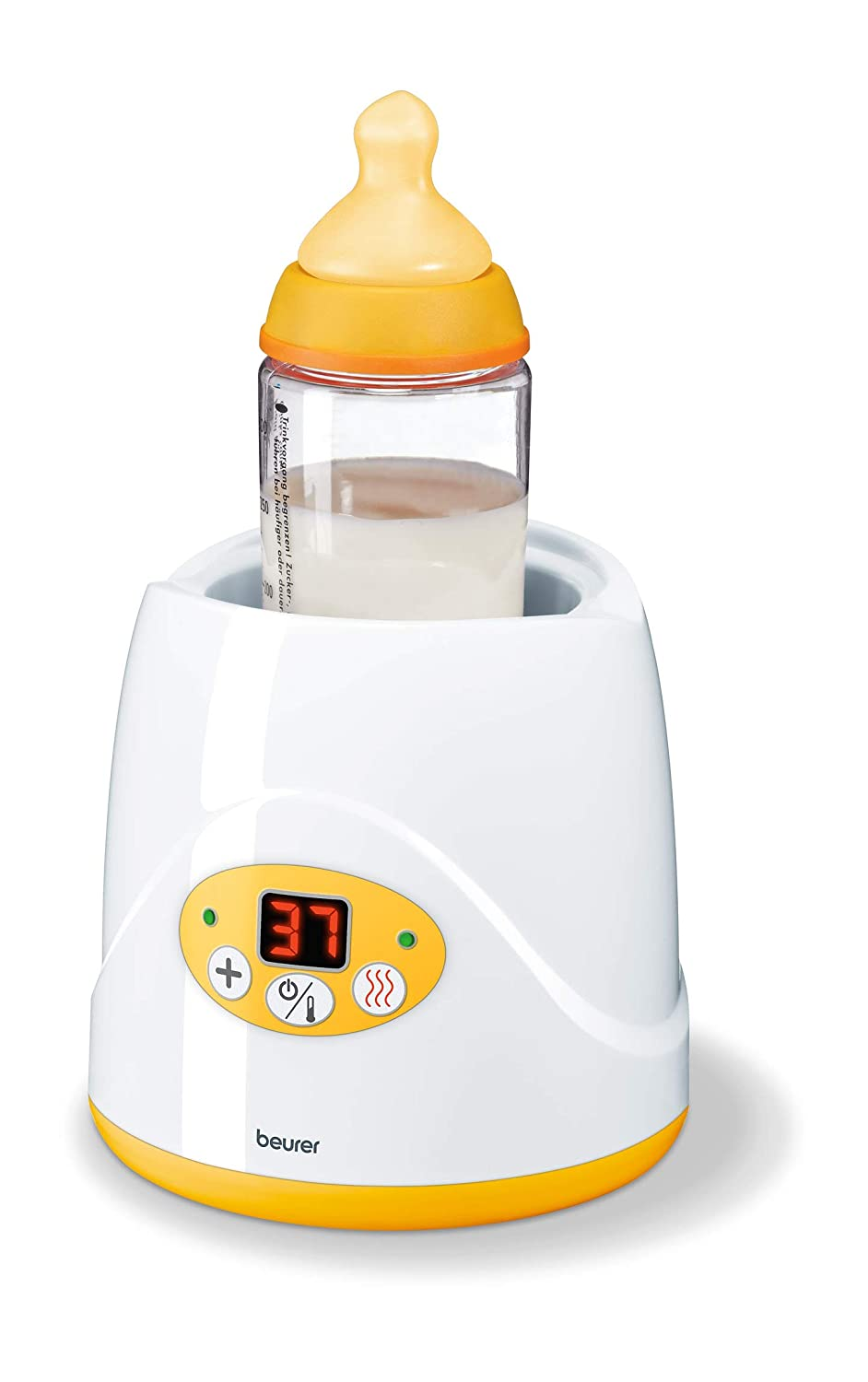 Beurer BY 52 baby food and bottle warmer with warming function & led display. 954.02