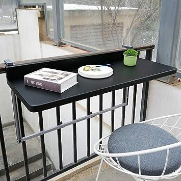Balkon Klapptisch Für Geländer.Ailj Wand Bodentisch Geländer Metall Aluminium Hängenden
