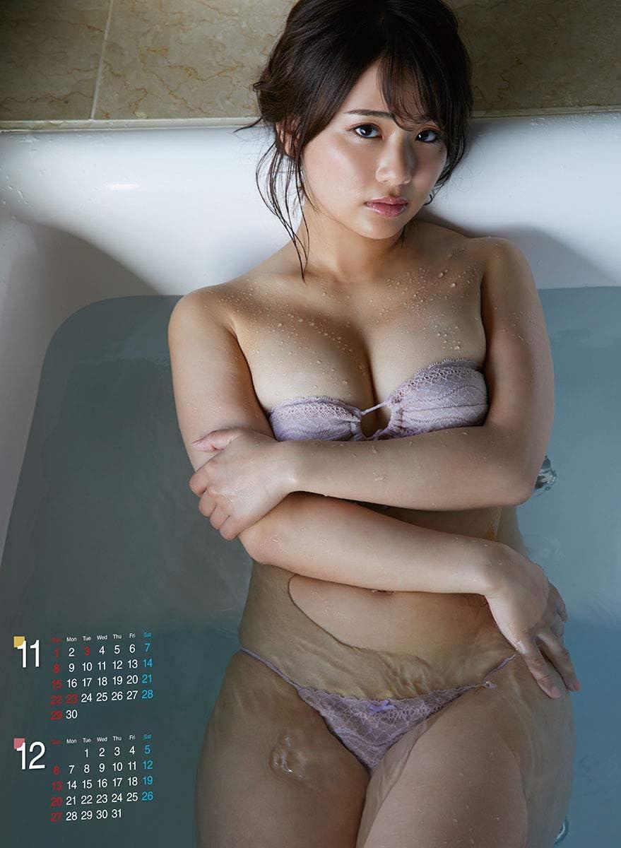 平嶋夏海 2020年 カレンダー 画像