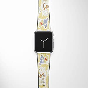 Watch Band Compatible with Apple iWatch All Series 38mm 40mm 42mm 44mm Cartoon Design Strap (winnie2) (38/40mm)