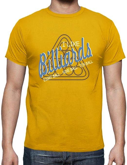 latostadora - Camiseta Me Gusta el Billar para Hombre ...