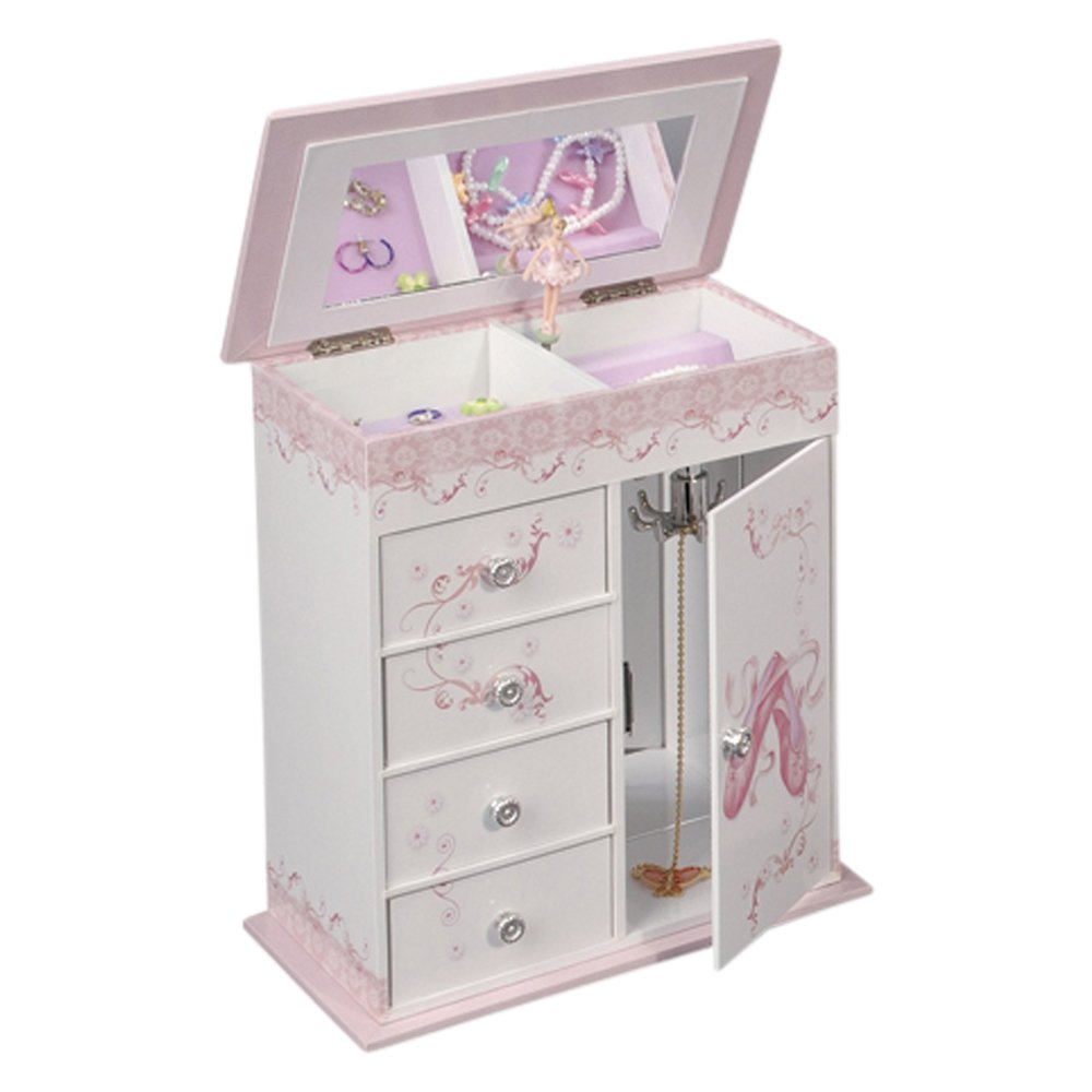 Graphic Wrap Ballerina Musical Jewelry Box for Girls VI Star GO-GM54204Z