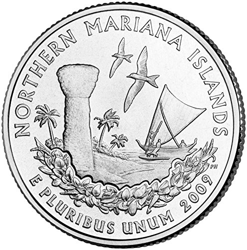 2009 P Mariana Islands Quarter Choice Uncirculated