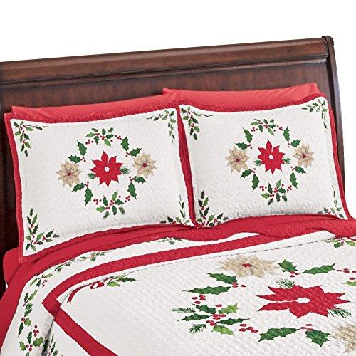 Christmas Evergreen Garland Pillow Sham