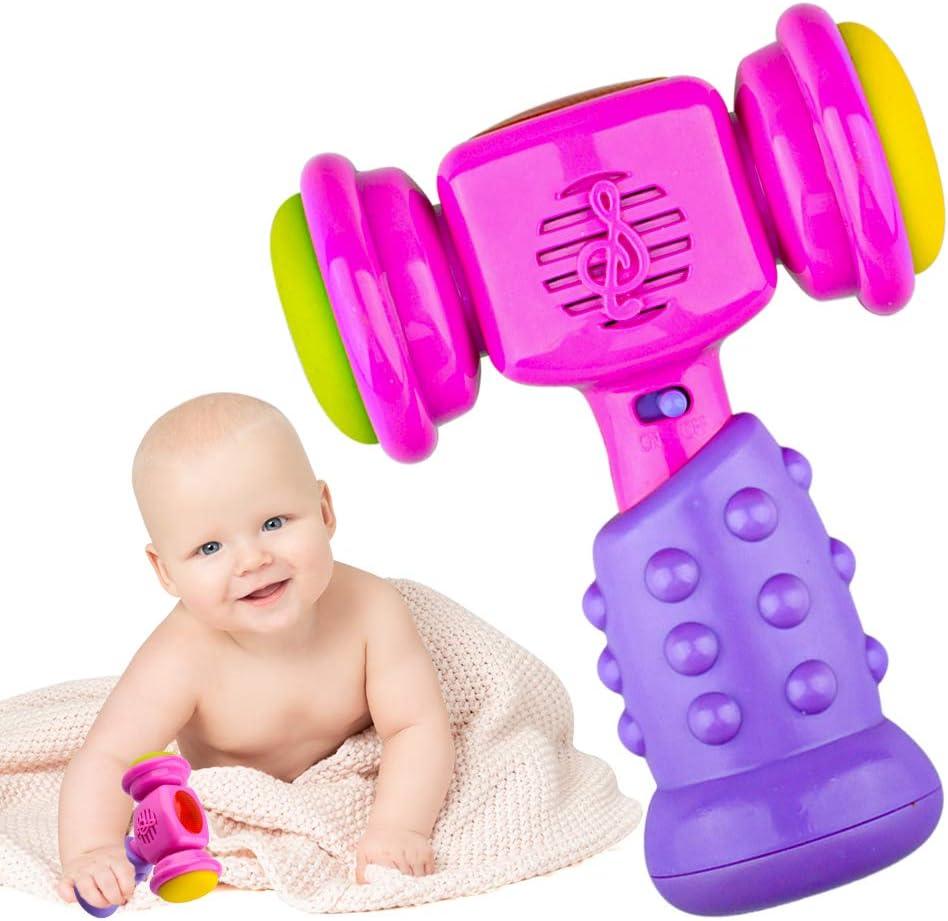 LITTLEFUN Martillo Musical para bebés Juguete para niñas y niños - Regalo de cumpleaños