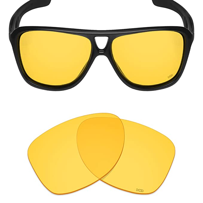 Mryok+ Polarized Replacement Lenses for Oakley Dispatch 2 - HD Yellow c2dfaa897e