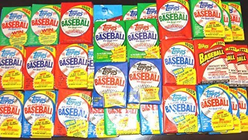 Vintage Topps Baseball Sealed Package product image