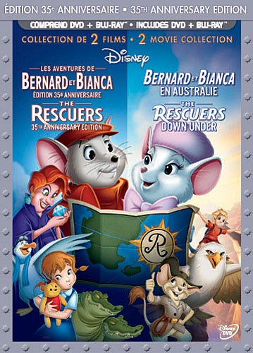The Rescuers [Blu-ray]