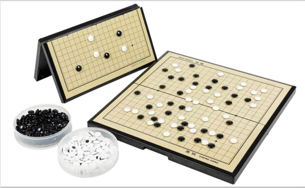 Magnetic Go Game, Juego de Mesa fácil de Llevar, ajedrez con magnético Adecuado para Principiantes 11 * 11 : Amazon.es: Deportes y aire libre