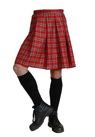Cesar-Disfraz de Escocia discount-Falda para hombre: Amazon.es ...