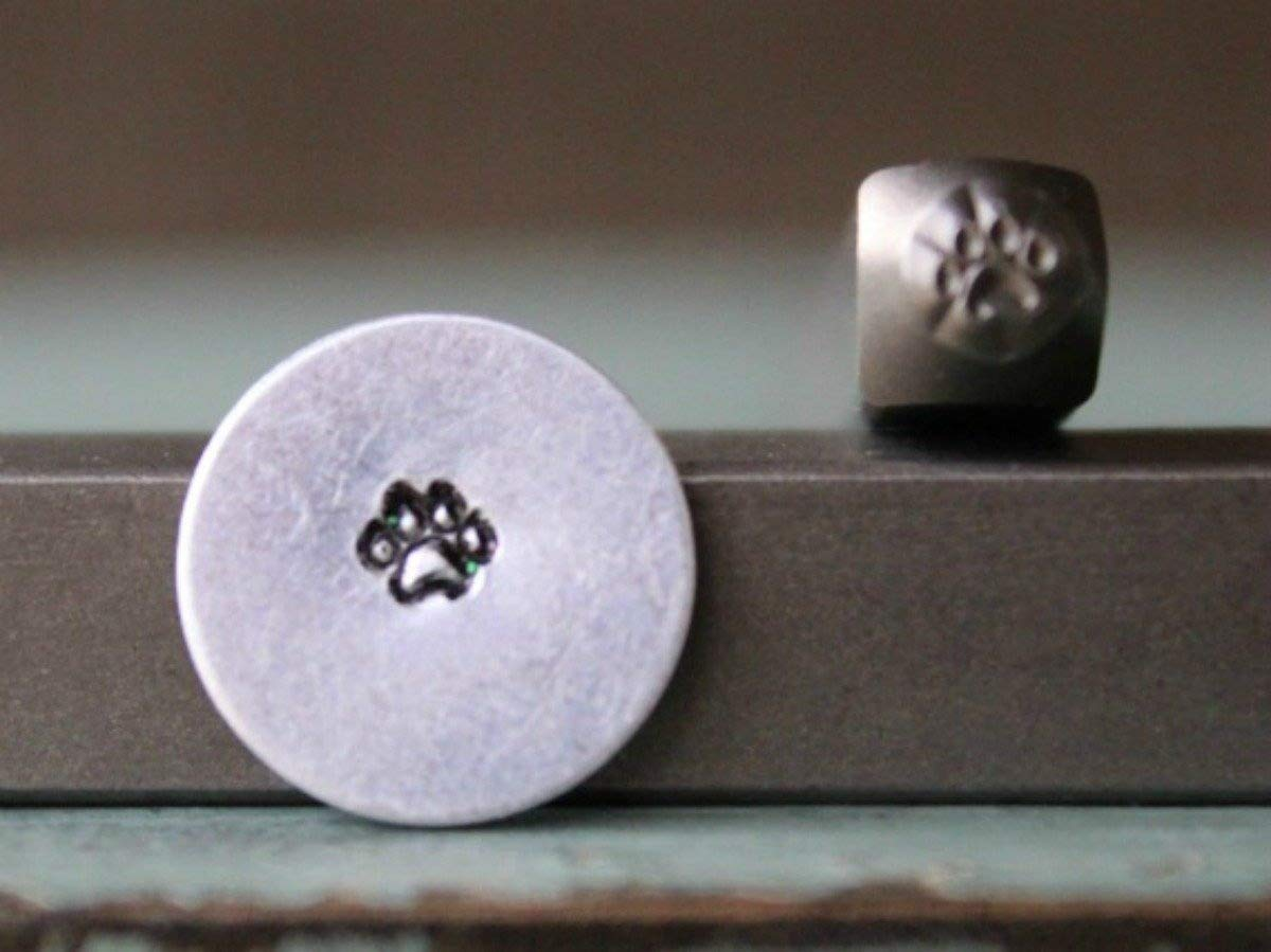 Brand New Supply Guy 3mm Dog Paw Punch Design Stamp CH-119 SGCH-119