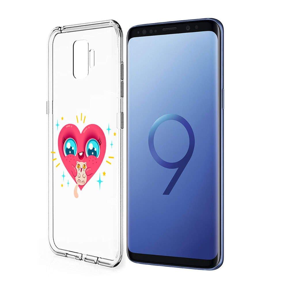 Finoo Estuche Rígido Funda para Móvil Tu Samsung Galaxy S9 Hecho ...