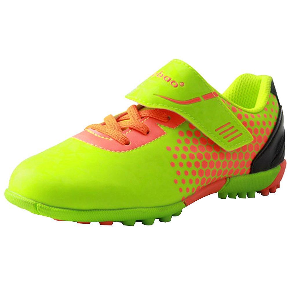 416508724 TieBao Kids  Boy s Hard Ground Athletic Indoor Hook Loop Soccer Shoes   Amazon.ca  Shoes   Handbags