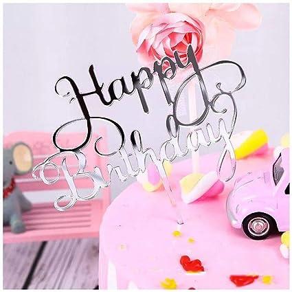 Decoración para tartas de cumpleaños para niños y adultos ...