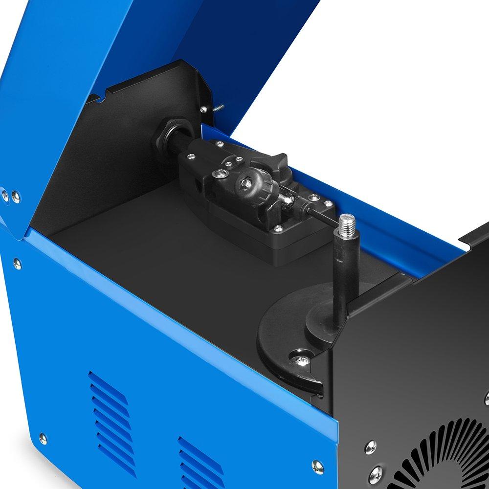 Sung Old Power Mig 150 A AC soldar sudor dispositivo Río Núcleo Alambre automática vorschub Welder Welding eléctrica sin gas no gas 230 V 150 Amp: ...