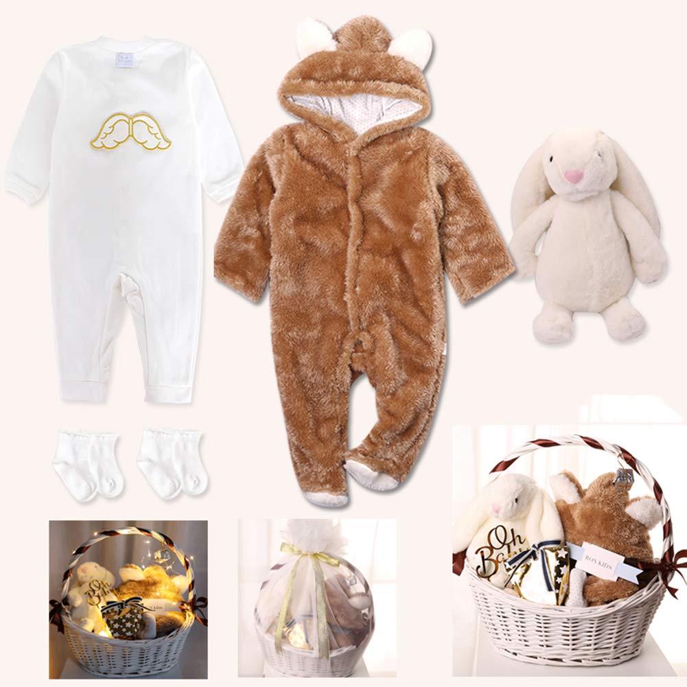 赤ちゃんのonesies、新生児用ギフトセット,赤ちゃんの服、幼児,秋と冬、ジャンプスーツ 66cm、柔らかく B07MK77QZP Brown、暖かく、厚い,男女兼用冬フード付きロンパースジャンプスーツ,満月の秋と冬の100日間,男性と女性のための新生児用品 B07MK77QZP Brown 66cm 66cm|Brown, Phoenix通販:5657b169 --- fancycertifieds.xyz