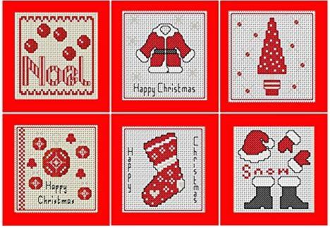 cross stitch christmas card kits