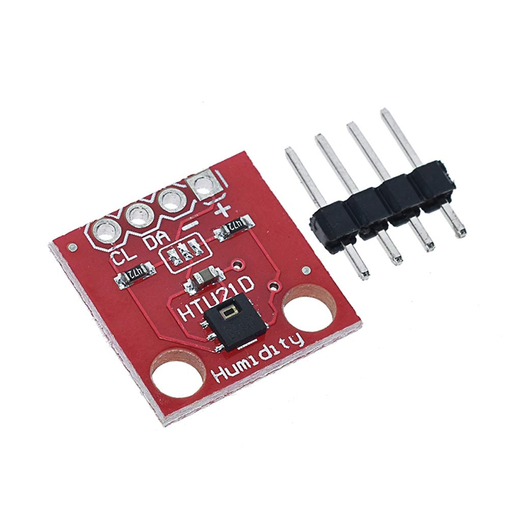 Comimark 2Pcs HTU21D Temperature /& Humidity Sensor Breakout Board Module