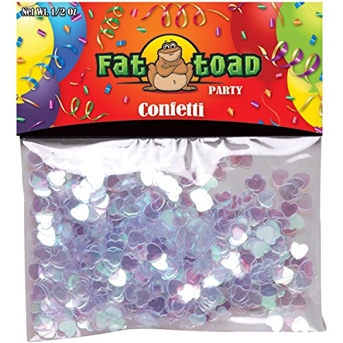 (Axiom International Confetti, Pearlized Hearts, 0.5-Ounce,)