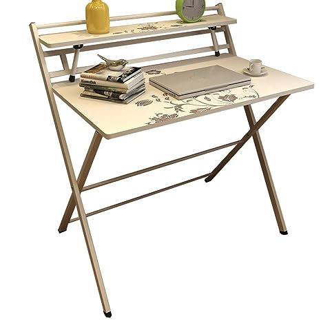 Amazon.com: Mesa plegable de instalación gratuita, mesa de ...