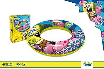 Flotador 50cm Bob Esponja: Amazon.es: Juguetes y juegos