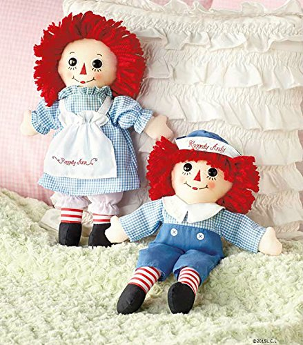Andy Doll Set (Raggedy Ann® & Andy® Cotton Fabric 12