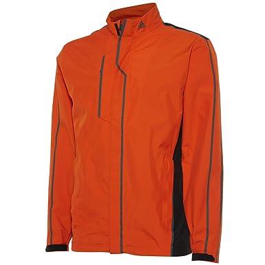 7335c294cc32 Adidas Golf 2014 Mens Gore-Tex Waterproof Rain Jacket - Gore Orange Black -  XXL  Amazon.co.uk  Clothing