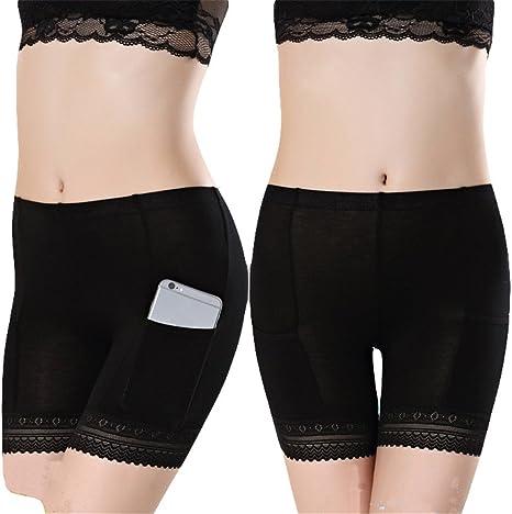 Mode Frauen Pure Spitze Kurzen Rock Unter Sicherheitshosen Unterwäsche Shorts
