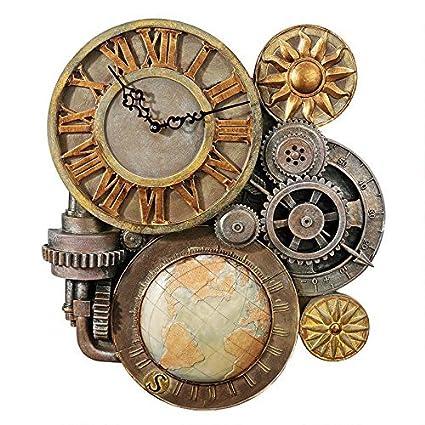 Gears of Time escultural reloj de pared
