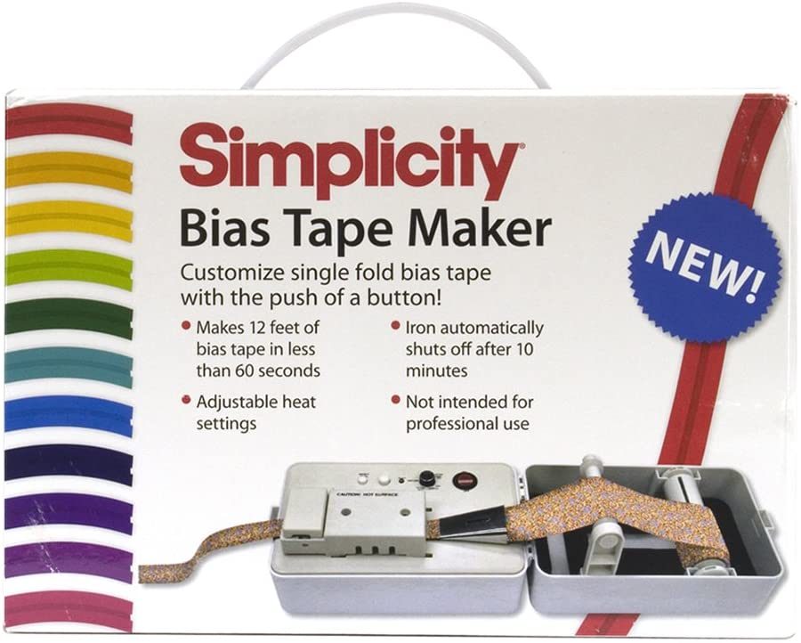 BIAS TAPE MAKER SIMPLICITY BRAND NEW UK SELLER FAST DELIVERY