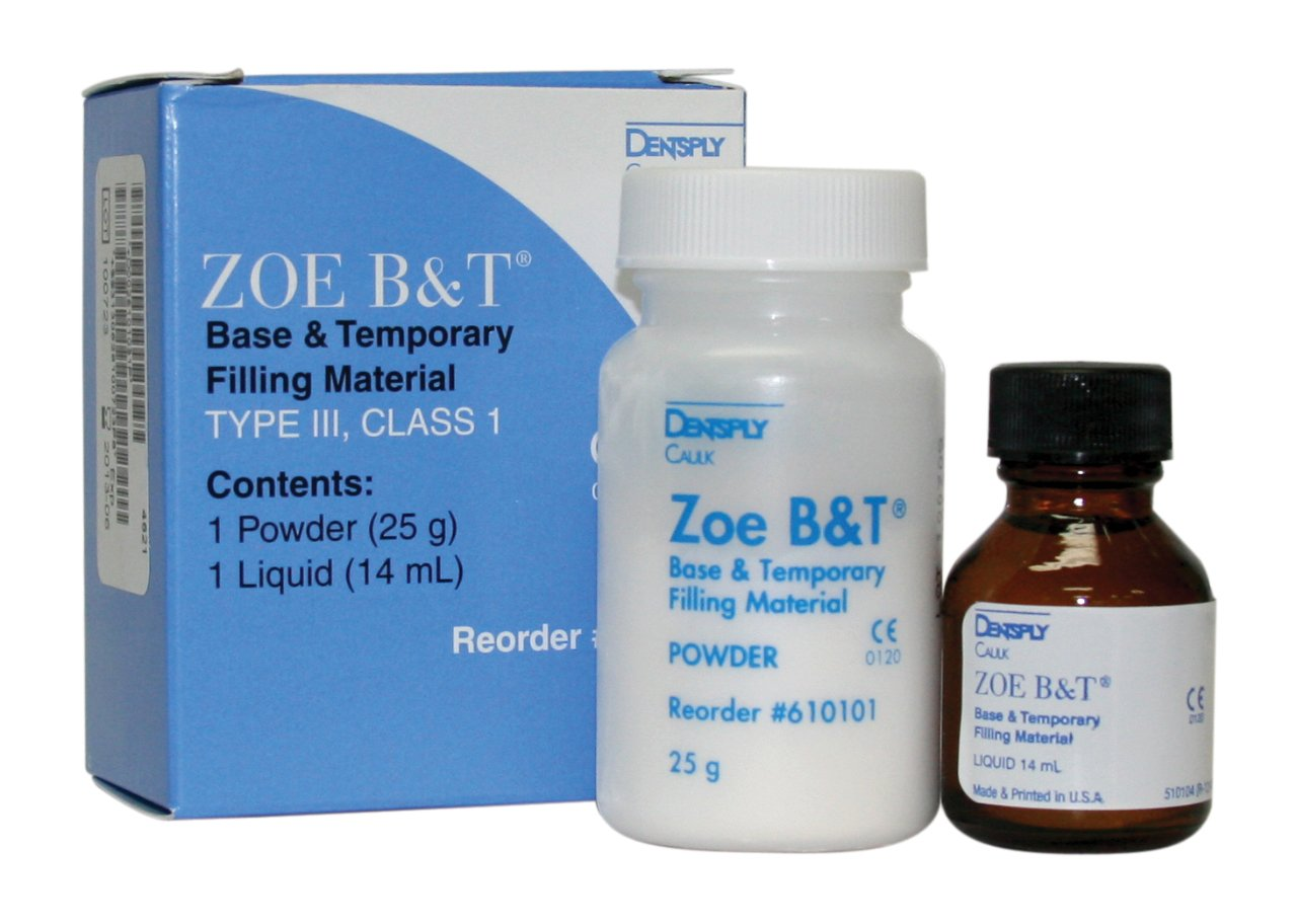 Dentsply 610103 ZOE B&T Base and Temporary Filling Material, Standard Package