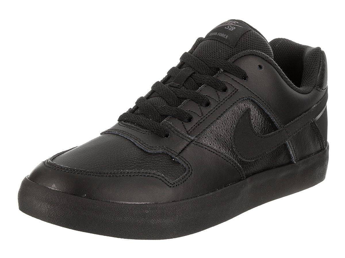 Amazon.com | NIKE Mens SB Delta Force Vulc Black/Black/Anthracite Skate Shoe 9.5 Men US | Skateboarding
