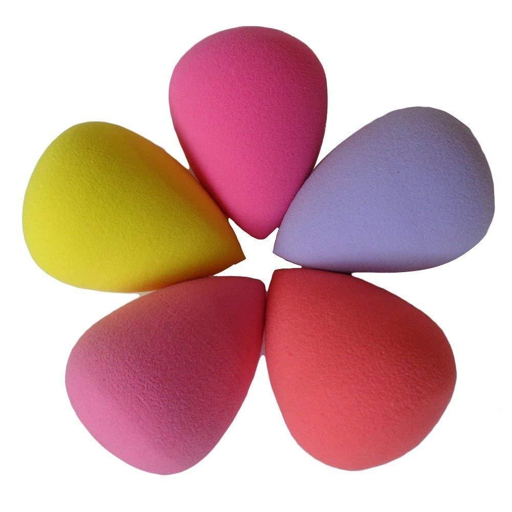 Aeromdale Beauté visage Makeup Blender Foundation Puff éponges Couleurs par aléatoire (6pièce Tear Drop Forme) par Aeromdale