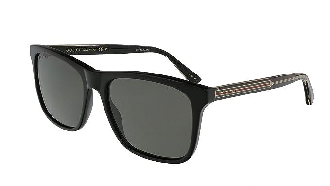 Amazon.com: Gucci GG0381S Club Master - Gafas de sol para ...