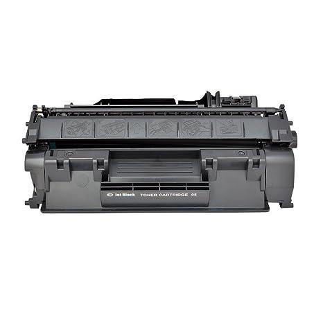 JET BLACK HP 505/05A Compatible Toner Cartridge For HP Laser Printers   Black Inks, Toners   Cartridges