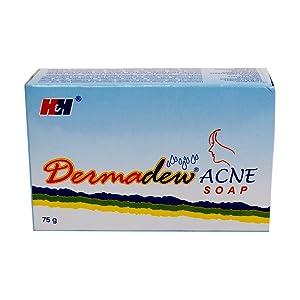 DermaDew Acne Soap By HH Lab ( Acne Treatment & Bright Skin) 75 gm Spot Black