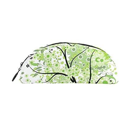 Amazon Com Malplena Green Spring Tree Clipart Picture Pen Case