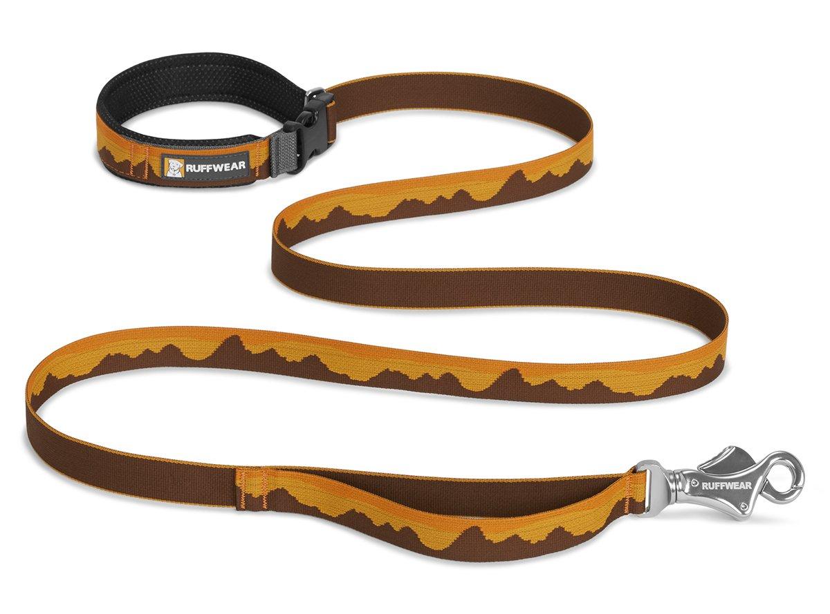 Correa para Perro Ancho: 25/mm Ruffwear Plana. para pasear o Hacer Senderismo para Todas Las Razas de Perro 1,8 m