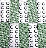 100 Pool Tabletas de testeo de well2wellness para die Cloro y pH Determinación - je 2 x 50 Unidad