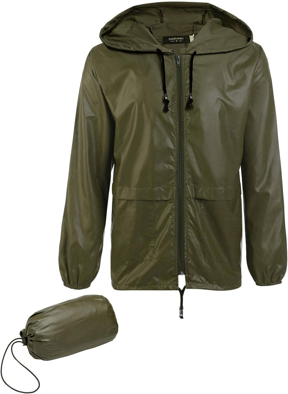 Unisex Cycling Waterproof Jacket Running Outdoor Sports Top Rain Coat S to 3XL