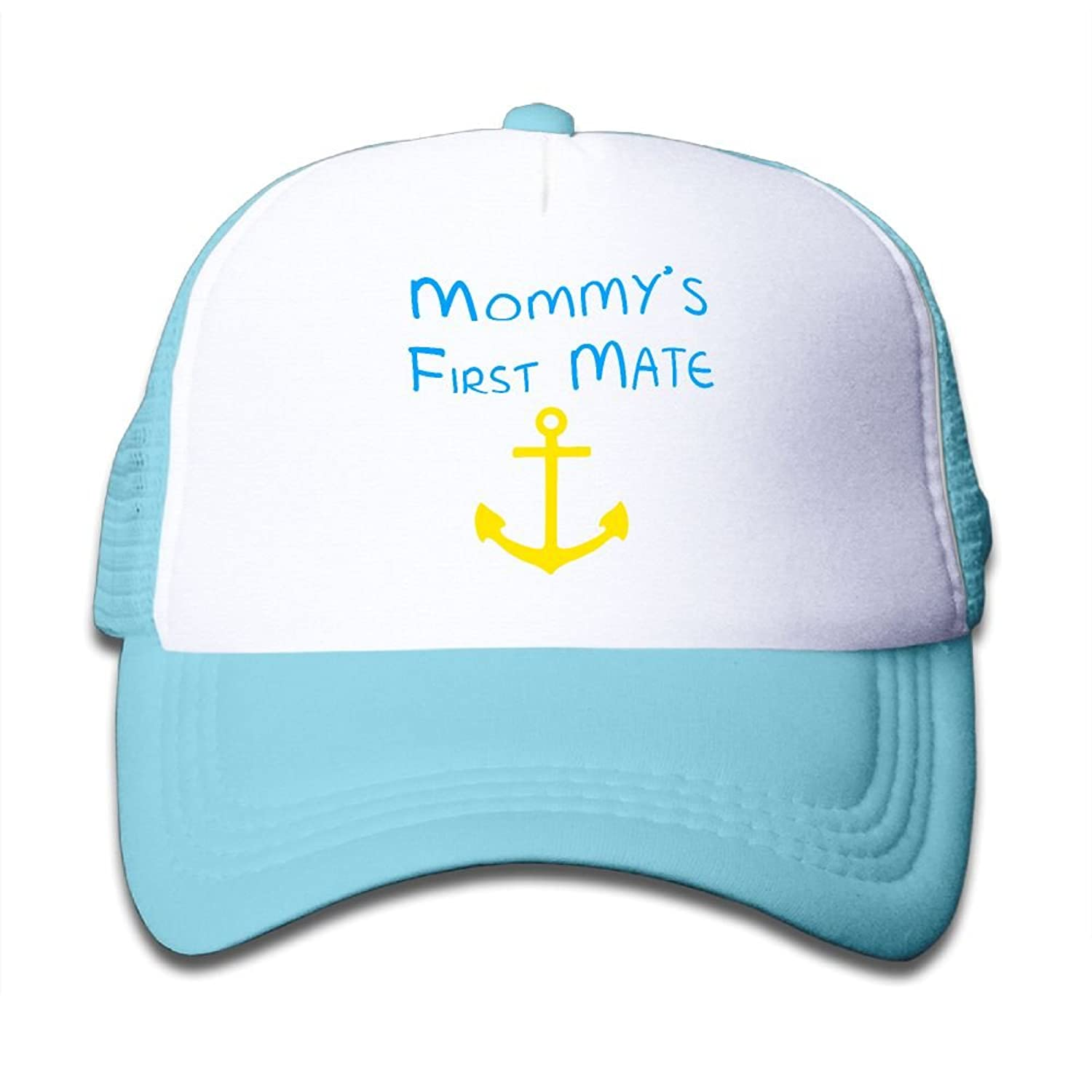 Gdgd1 Caps Mommy's First Mate Baby-Girl Fashion Flat Hat Adjustable Baseball Caps big discount