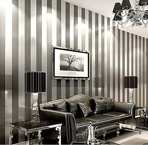 lfnrr hoher qualität einfach und modern vliestapeten schlafzimmer ... - Wohnzimmer Schwarz Weis Gold